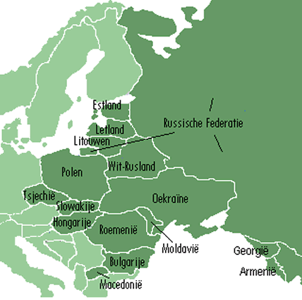kaart-oost-europa